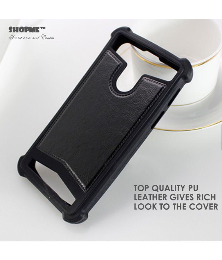 best cheap 15331 68f16 Lava X38 Shock Proof Case Shopme - Black - Plain Back Covers Online ...