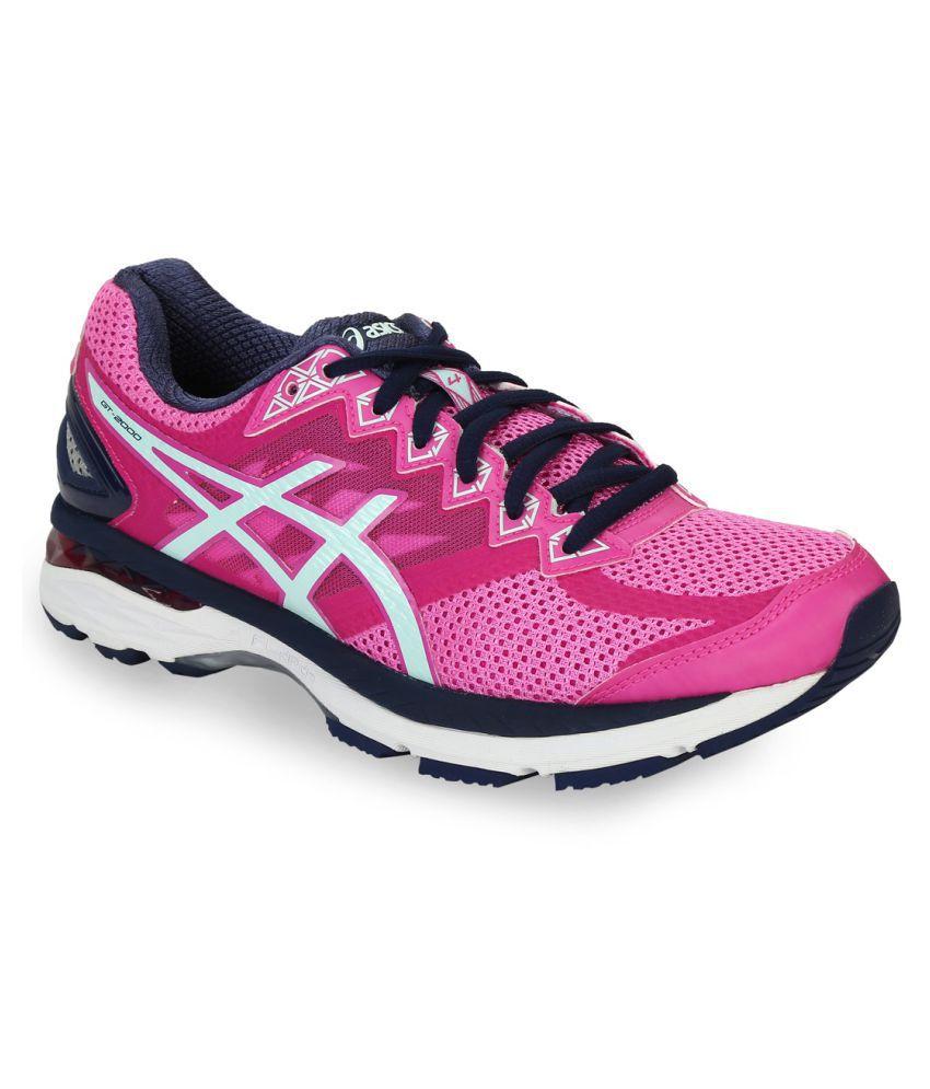 sale retailer 96b14 1c86b Asics GT-2000 4 Pink Running Shoes
