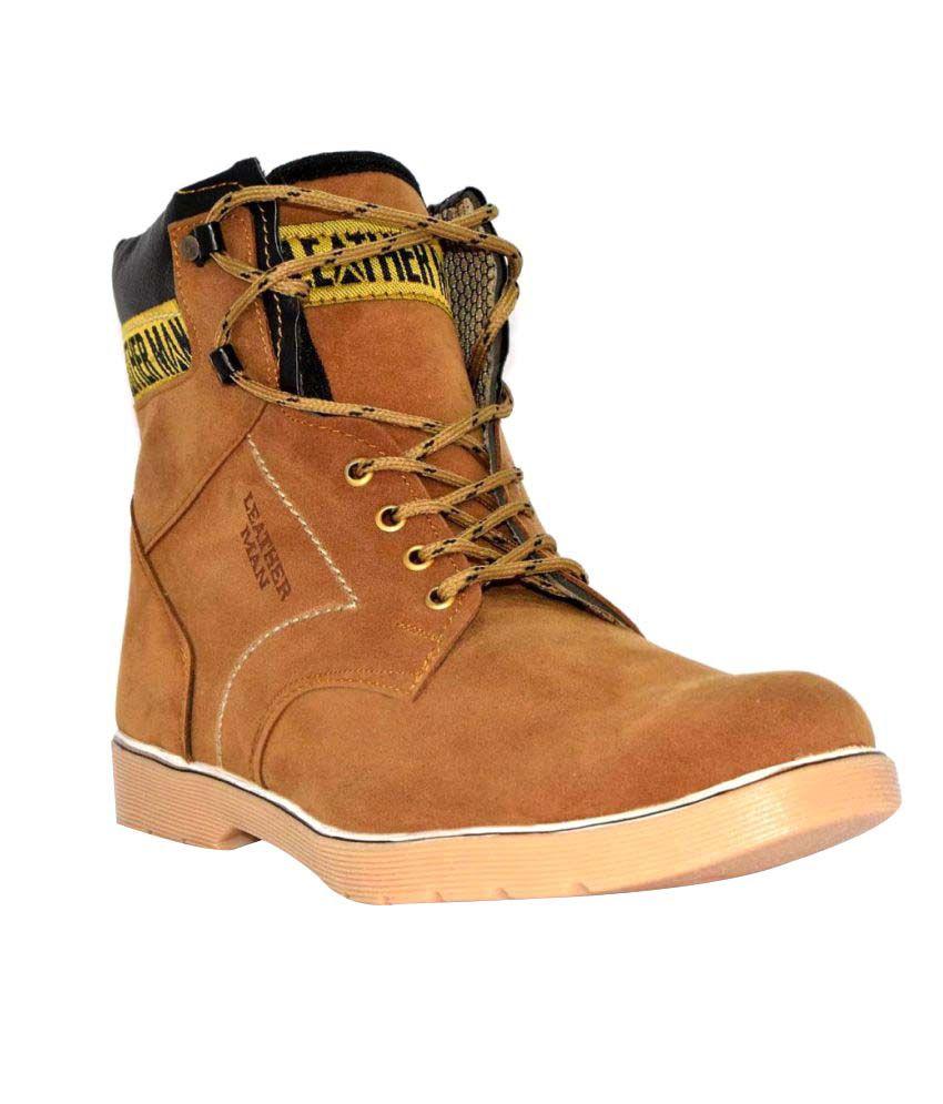 Aleg Tan Casual Boot