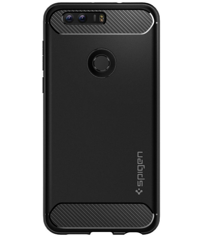 new concept b0e53 bcb1a Spigen Honor 8 Case Rugged Armor Black L09CS20884