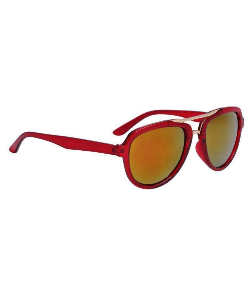 Reyda Yellow Round Sunglasses ( mrred-151-58 )