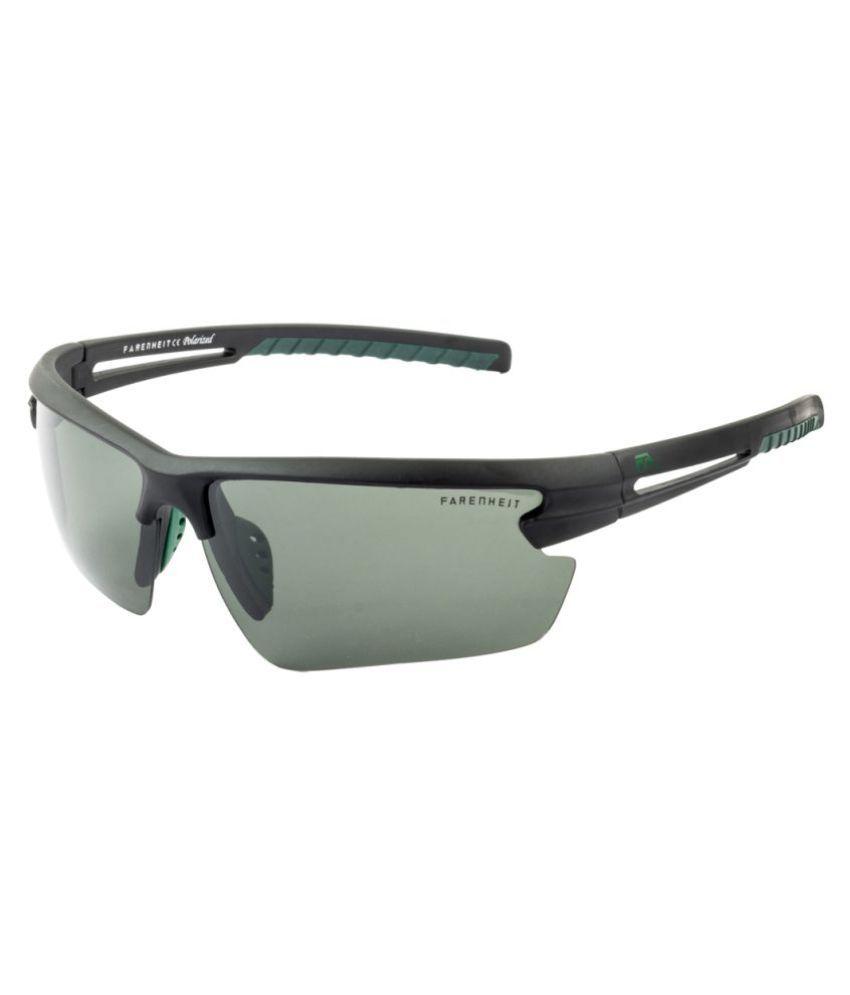 order online first look a few days away Farenheit Grey Wrap Around Sunglasses ( 1356P-C1 )