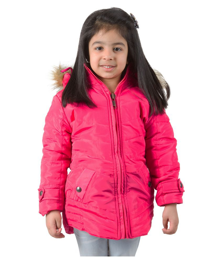 Burdy Pink Bomber Jacket