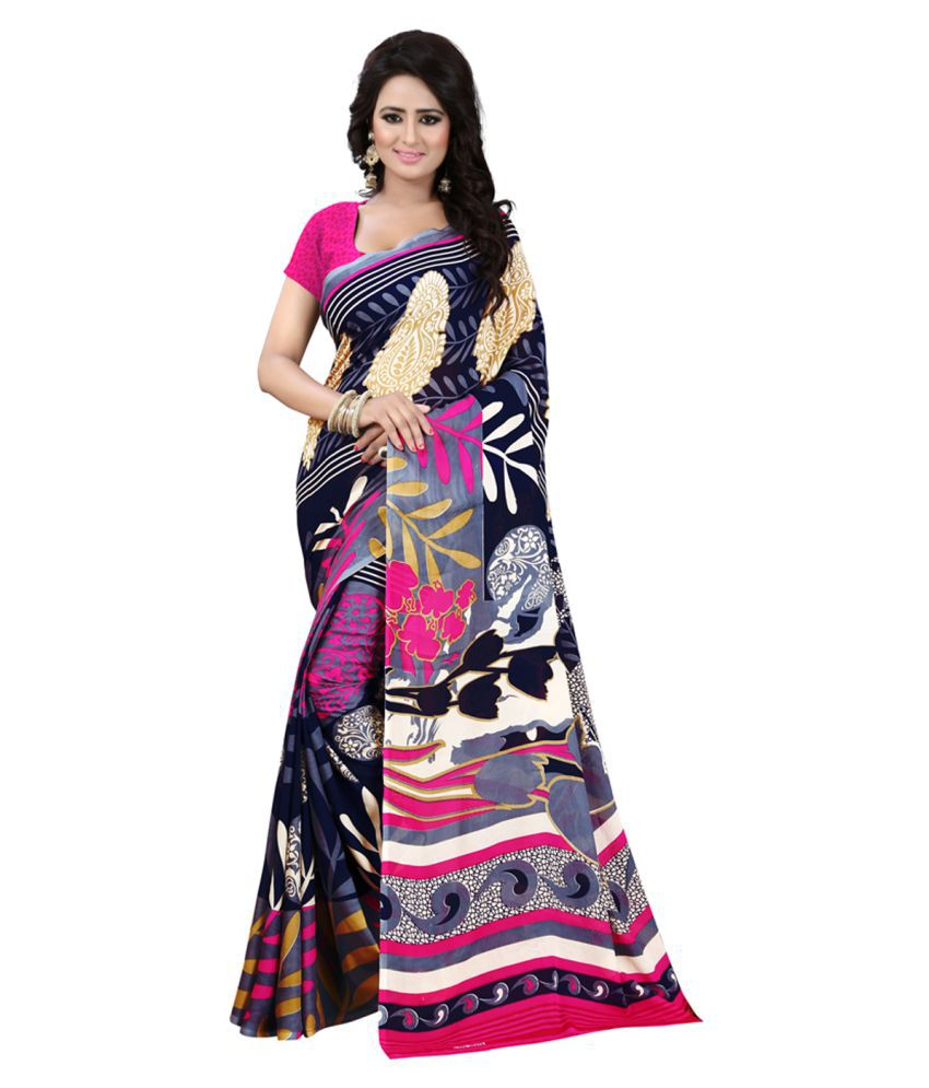 Maroosh Multicoloured Georgette Saree