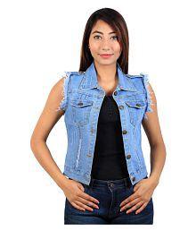 Cherry Clothing Denim Band Jacket