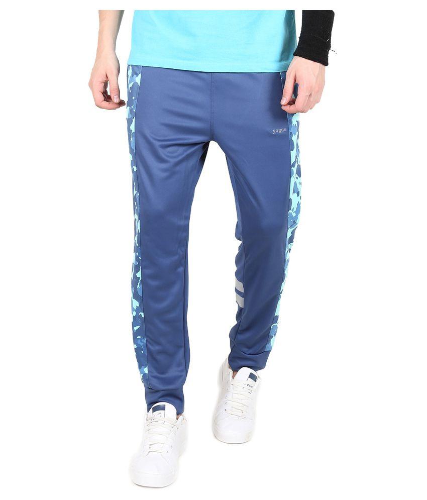 Yogue Blue Camo Print Bottomwear