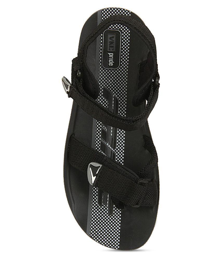 VKC 3116C Black Sandals Price in India