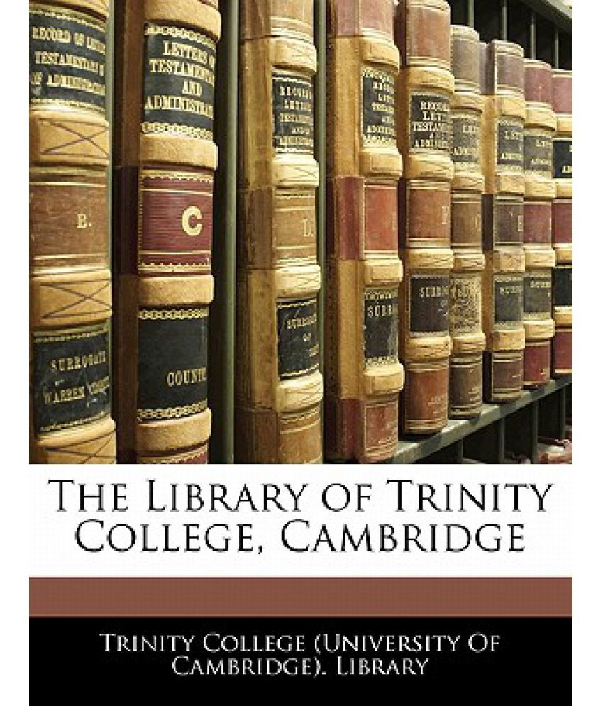 The Library of Trinity College, Cambridge: Buy The Library