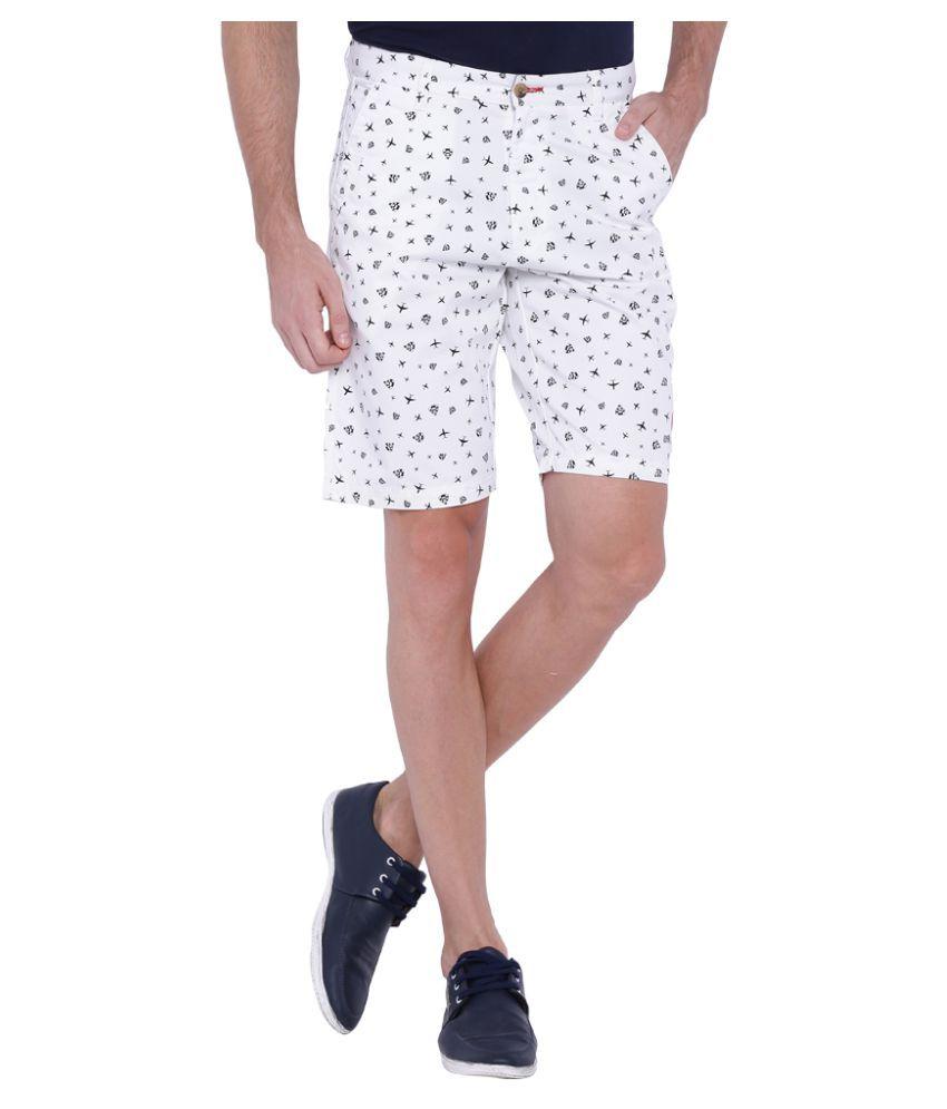 Balista White Shorts