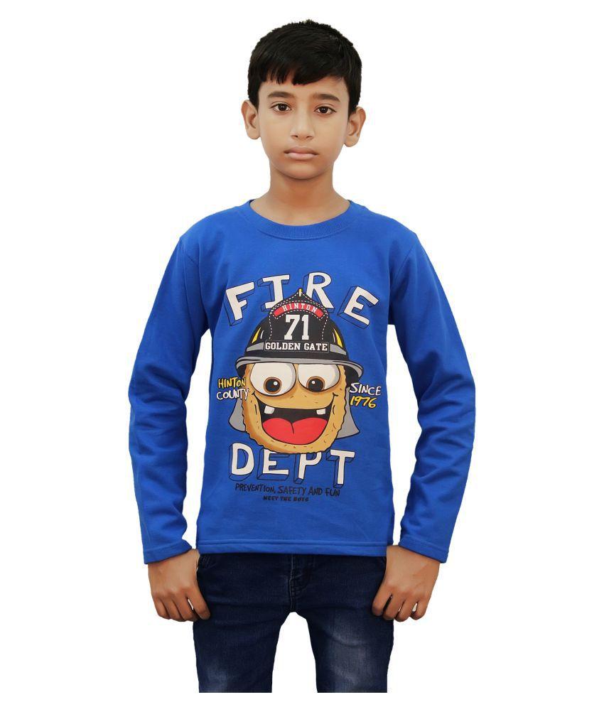 Kothari Blue Sweatshirt