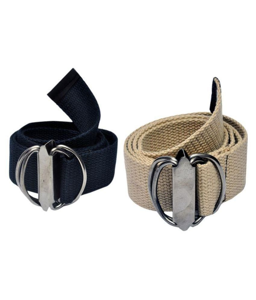 BBS Multi Canvas Casual Belts