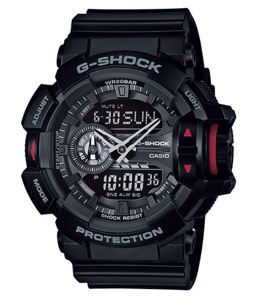 8613813c0 Casio G-Shock GA-400-1BDR (G566) Analog-Digital Men s Watch - Buy Casio G-Shock  GA-400-1BDR (G566) Analog-Digital Men s Watch Online at Best Prices in India  ...