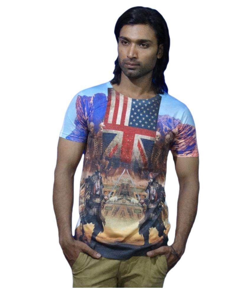 Smartwear Multi Round T-Shirt