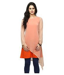 a975374fae Georgette Womens Kurtis: Buy Georgette Womens Kurtis Online at Low ...