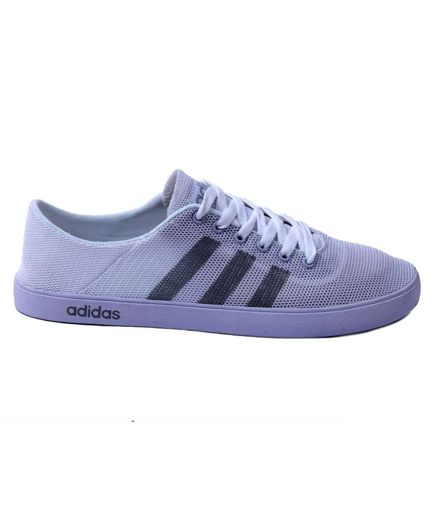 buy popular edbf6 22f43 Adidas Neo White Casual Shoes Adidas Neo White Casual Shoes ...