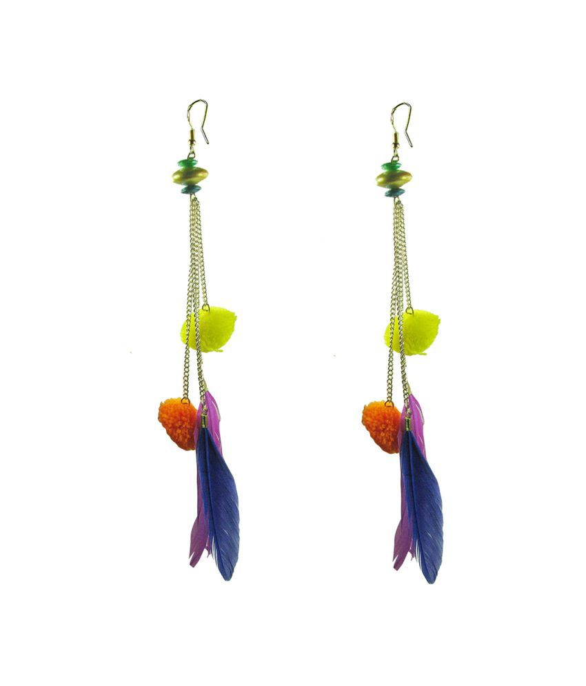 Collana Multicolour Alloy Hangings Earring