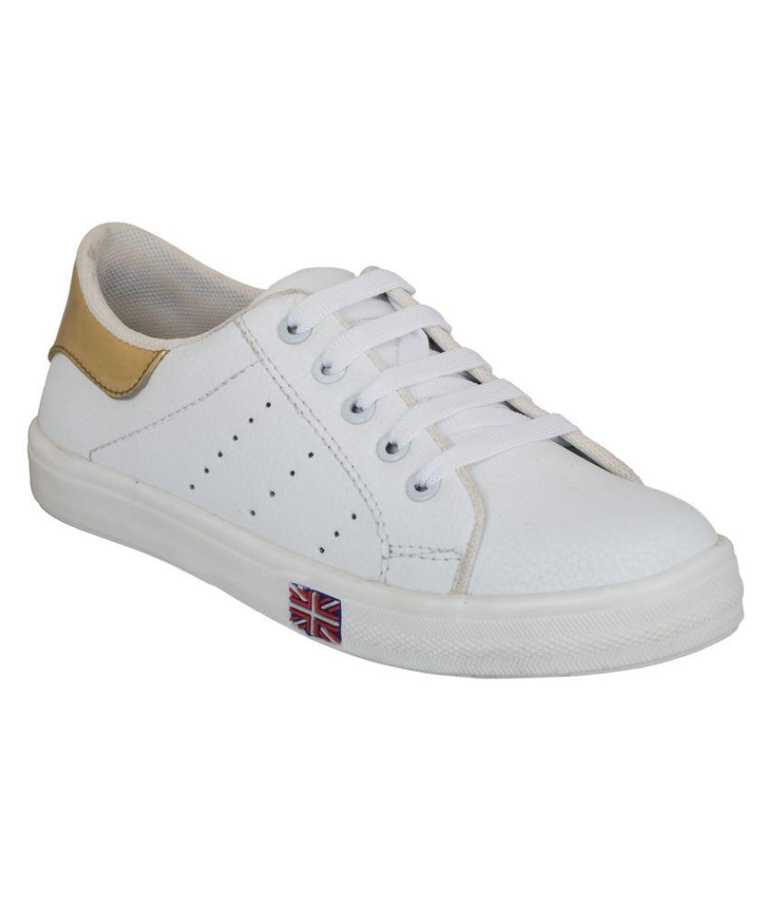 NE Shoes White Sneakers