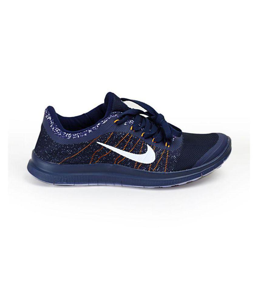on sale 60484 38b9b Nike Free Run 3.0 Navy Running Shoes