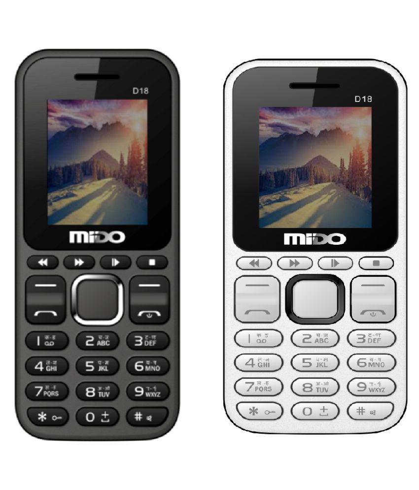 Mido D18 32 MB White
