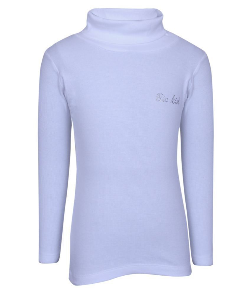 Bio Kid White Sweatshirt