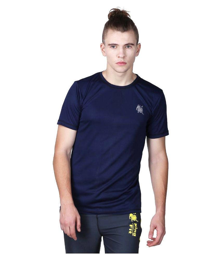 L'appel Du Vide Blue Polyester T-Shirt Single Pack