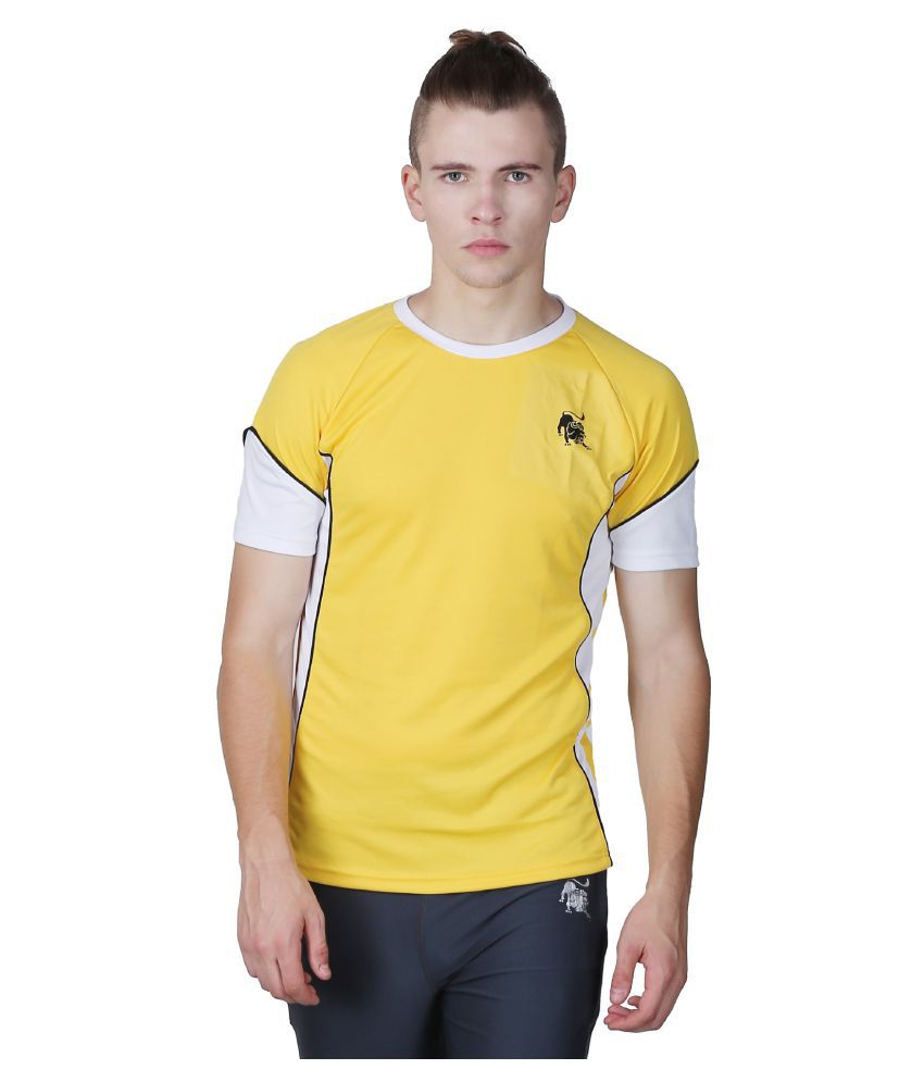 L'appel Du Vide Yellow Polyester T-Shirt Single Pack