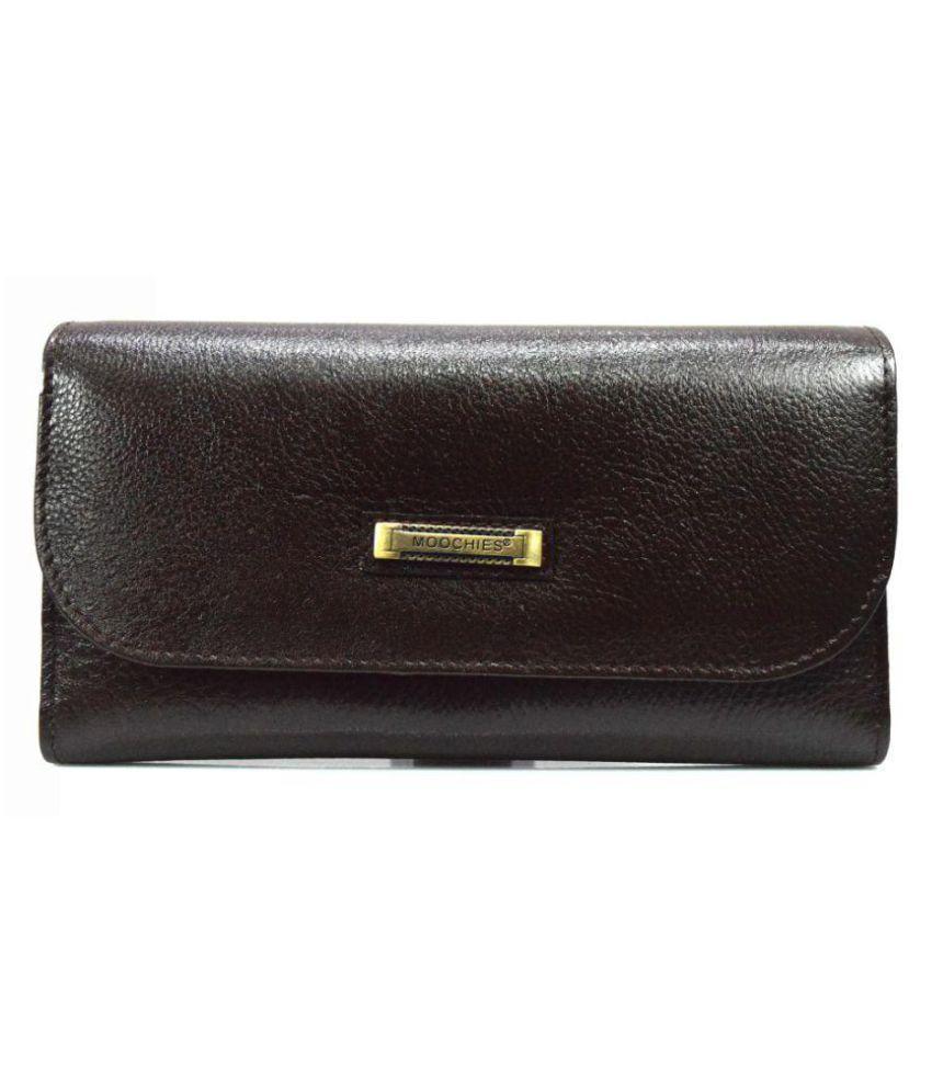 Moochies Brown Wallet