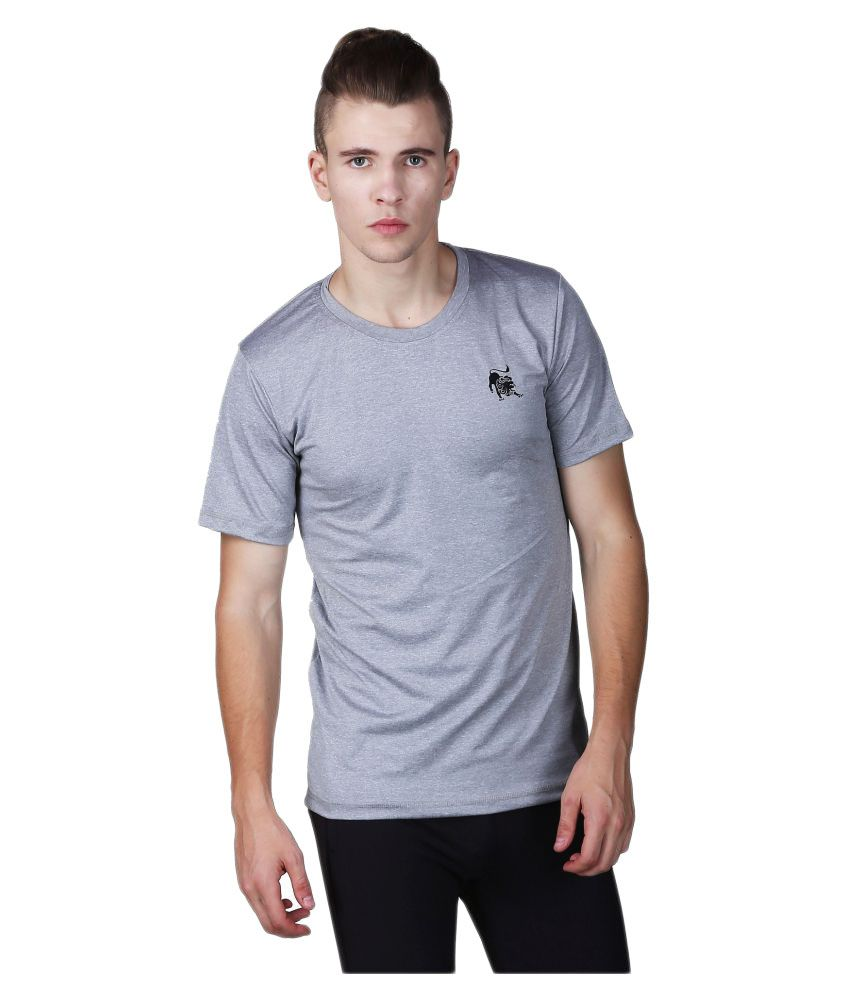 L'appel Du Vide Grey Polyester T-Shirt Single Pack