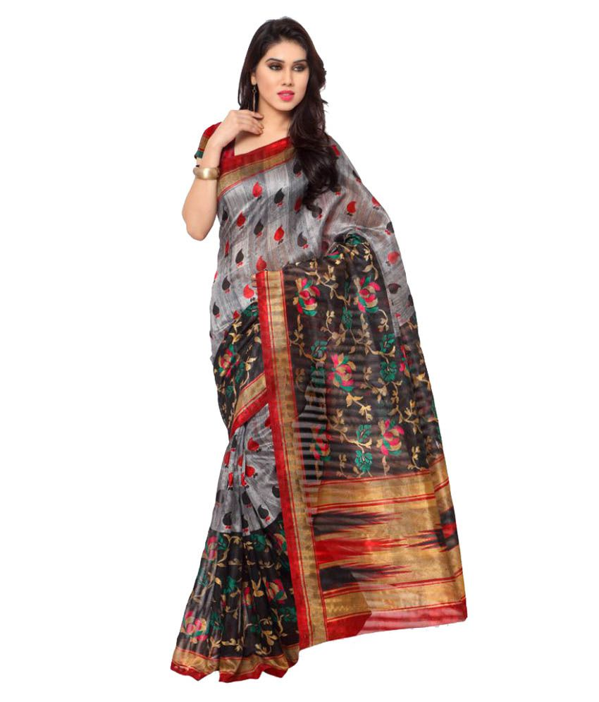 Yuvanika Multicoloured Cotton Silk Saree