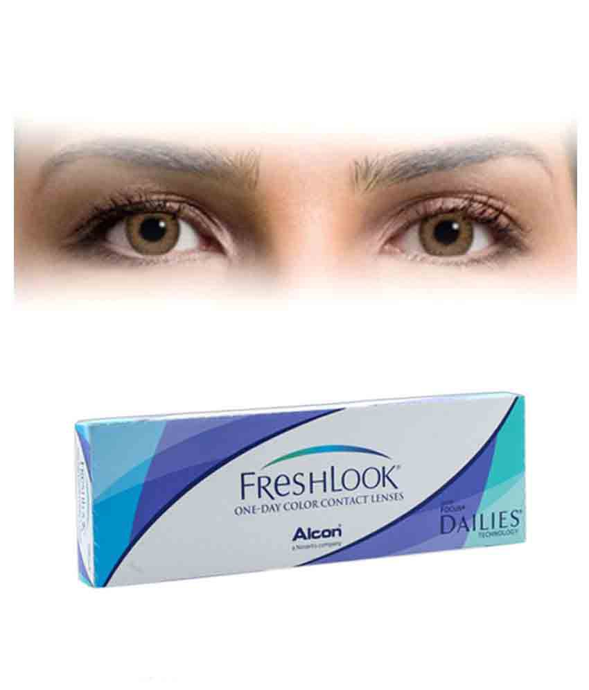 FreshLook One-Day | Pure Hazel Colored Contacts | Dualens