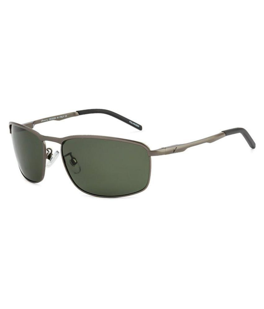 7b02b608be Velocity Green Rectangle Sunglasses ( HA89030-MTGUNG15 ) - Buy Velocity  Green Rectangle Sunglasses ( HA89030-MTGUNG15 ) Online at Low Price -  Snapdeal