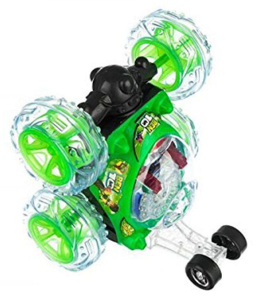Latest Rechargeable BEN 10 Stunt Car Remote Control Car