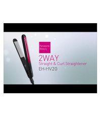 Panasonic EH-HV20-K62B Hair Straightener ( Red-Black )