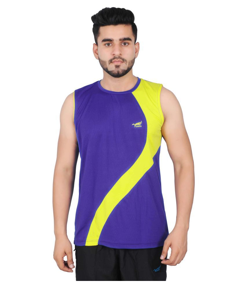 NNN Purple Polyester T-Shirt Single Pack
