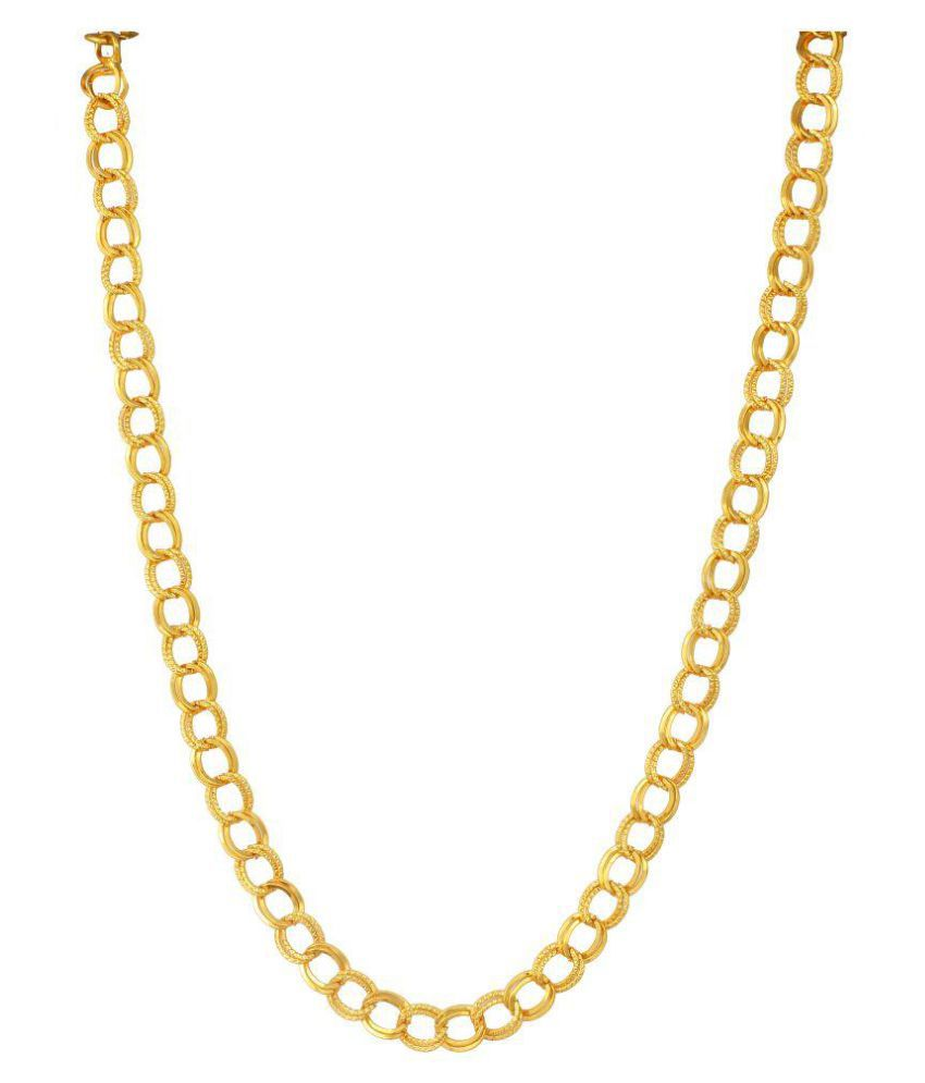Charms Designer Gold Plated Chain For Mens & Boys: Buy Charms ...