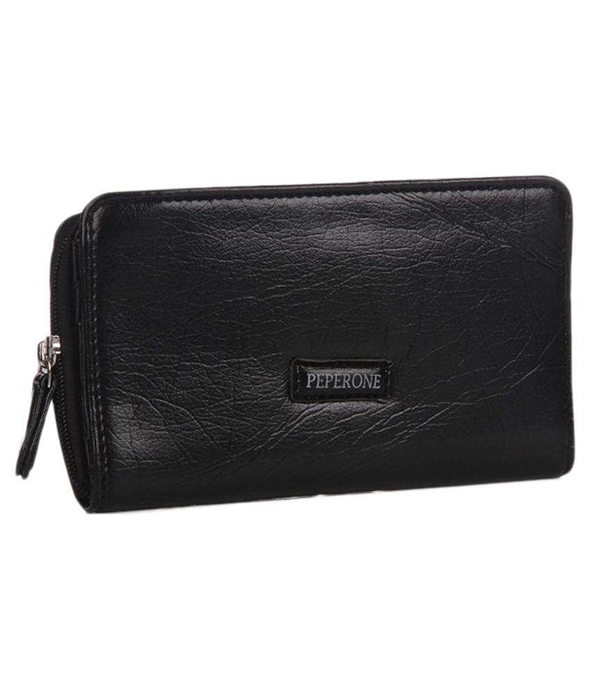Peperone Black Wallet