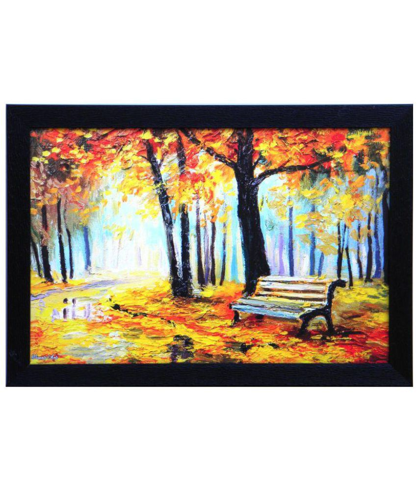 Amazing Collections Acrylic Painting With Frame Single Piece