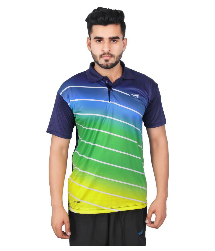 NNN Multi Polyester Polo T-Shirt Single Pack