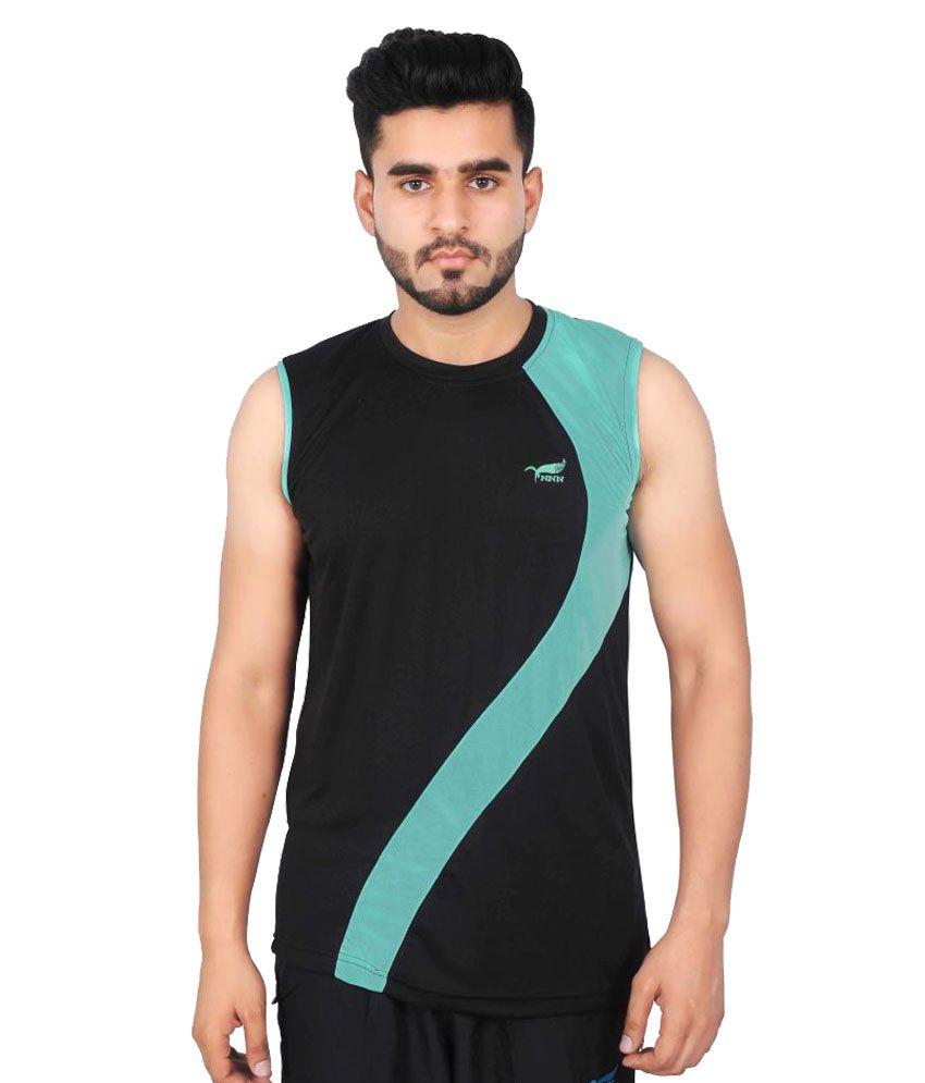NNN Black Polyester T-Shirt Single Pack