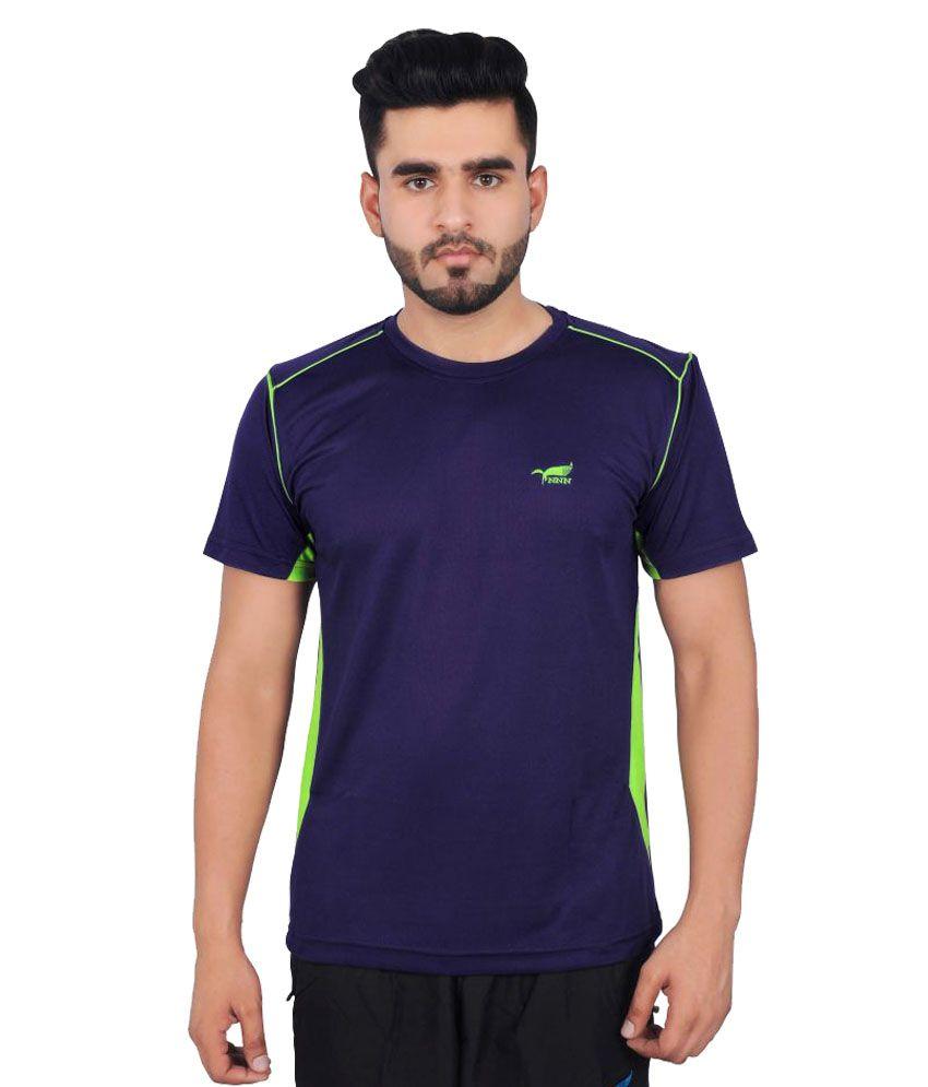 NNN Blue Polyester T-Shirt Single Pack