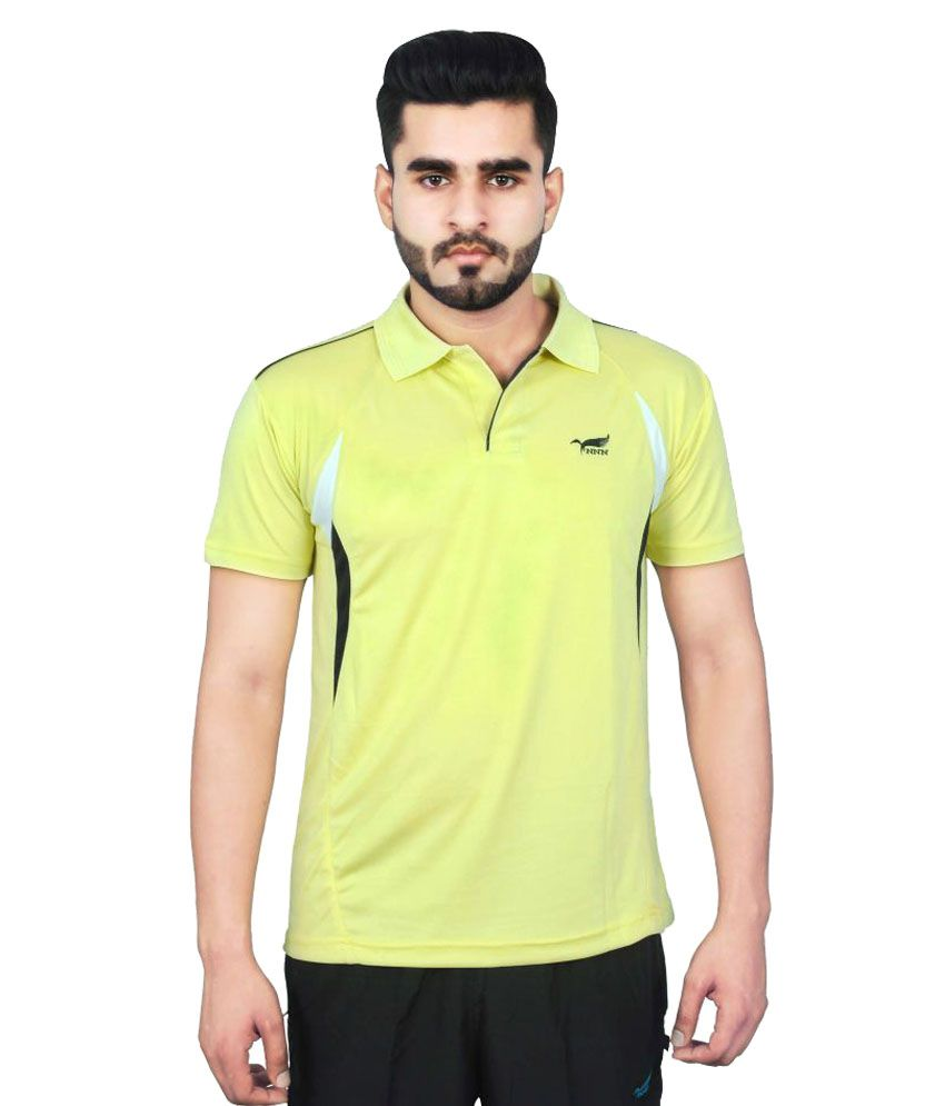 NNN Green Polyester Polo T-Shirt Single Pack