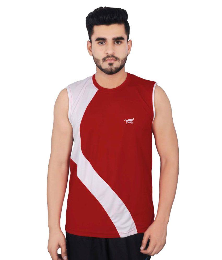 NNN Red Polyester T-Shirt Single Pack