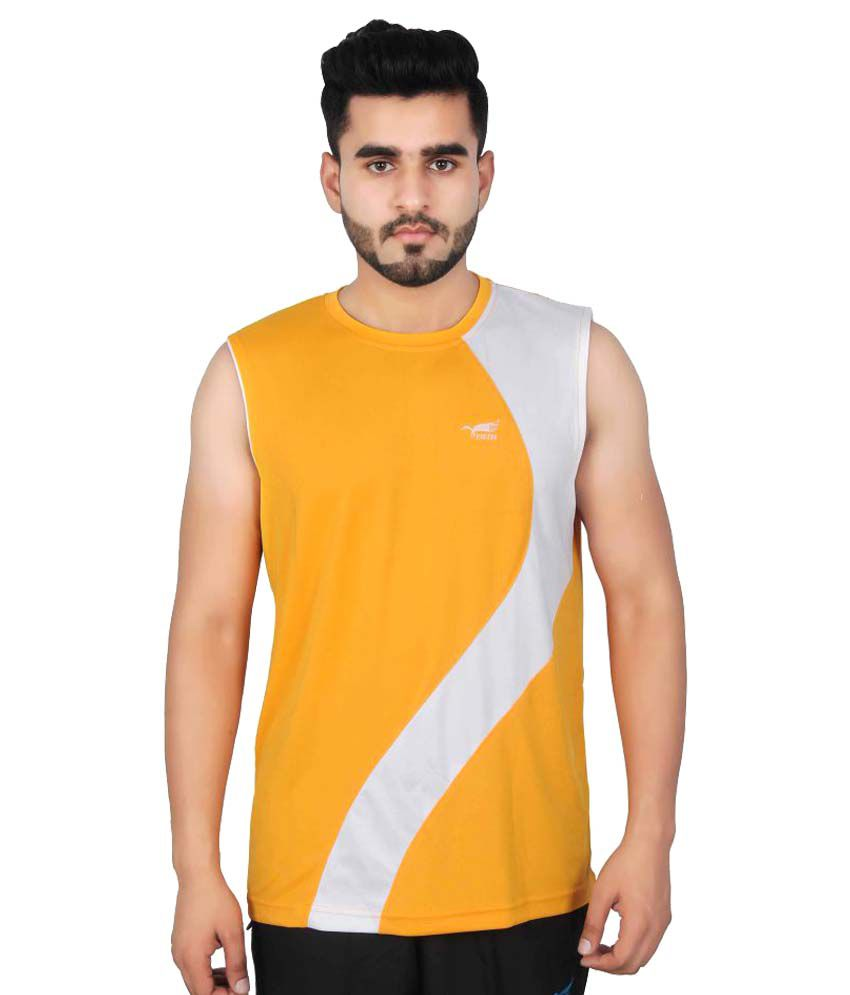 NNN Yellow Polyester T-Shirt Single Pack