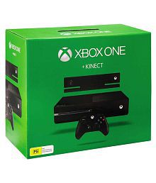 Microsoft Xbox One 500GB Console With Kinect And 4 Games DLC ( Halo 5, Forza Motorsport 6,Fruit Ninja 2 & Kinnect Rivals)