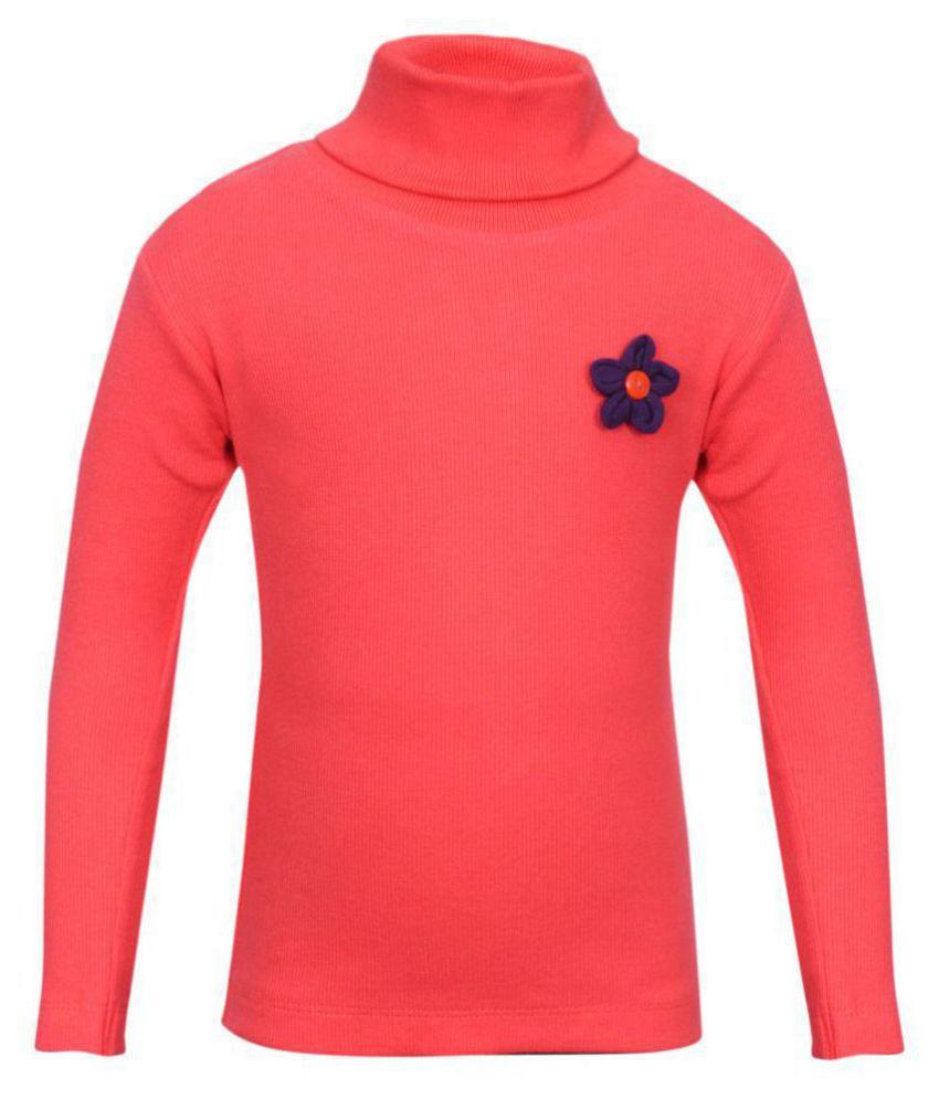 Bio Kid Peach Cotton Blend Sweatshirt