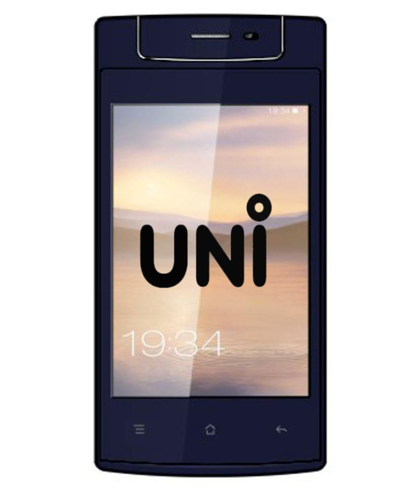 Uni N6100 Three Sim Rotating Camera with TV 128 MB Black