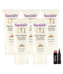 Nutriglow Daily Defense Skin Creame Day Cream 50 Ml Pack Of 5