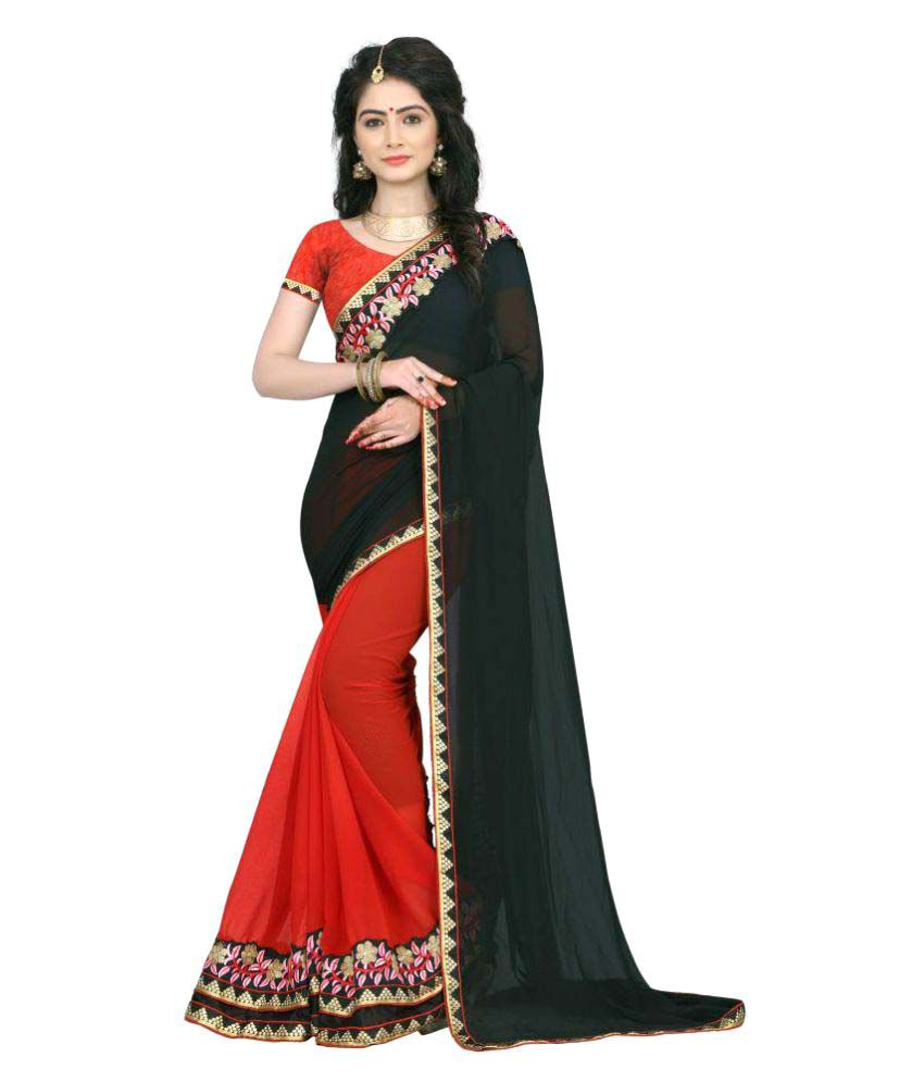 72548d74432bd Trendz Apparels Multicoloured Georgette Saree available at SnapDeal for  Rs.1199