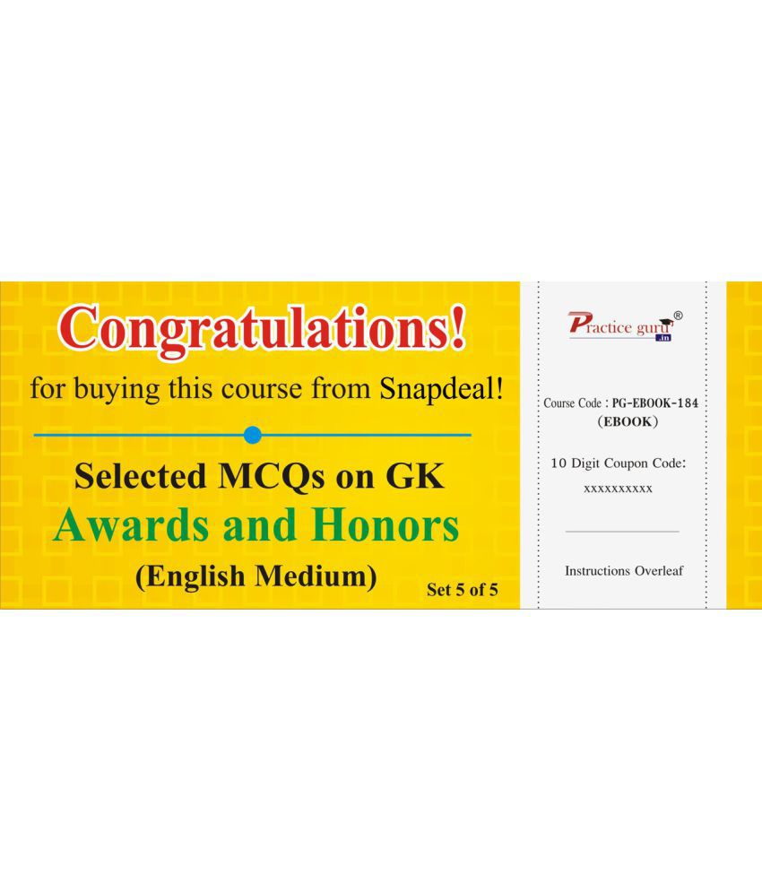 Httpssnapdealproductse learning 2018 05 28 weekly selected mcqs on gk awards sdl930844825 1 a6320g fandeluxe Images