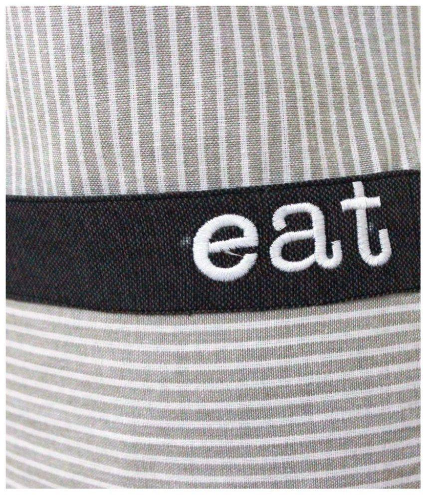 Buy white apron online -  Milano Single Cotton Apron